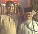 Asep Jalaludin bersama Abdullah Hehamahua